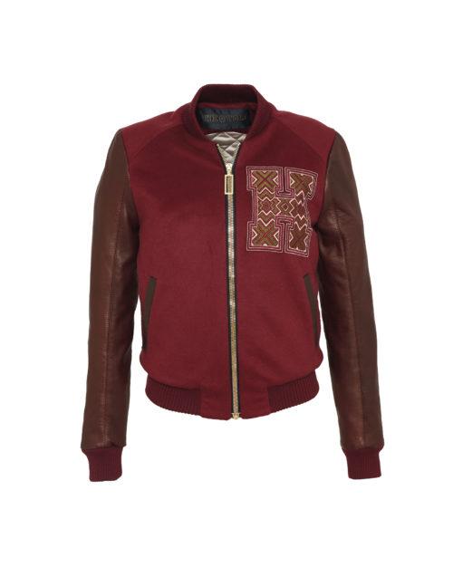 Eyecatcher Bordeaux & Claret Cashmere & Leather