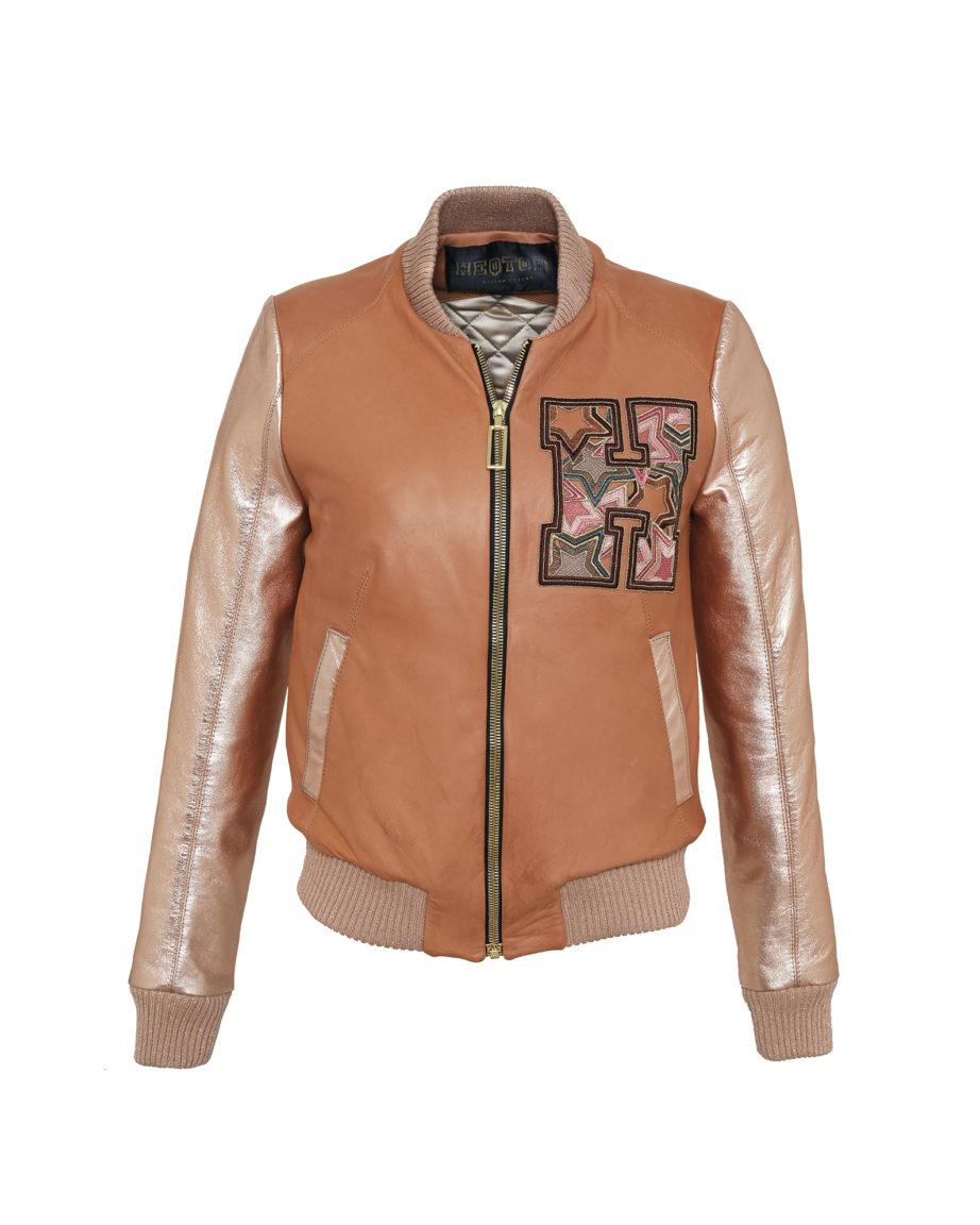 Starstriker Caramel & Gold Leather & Leather
