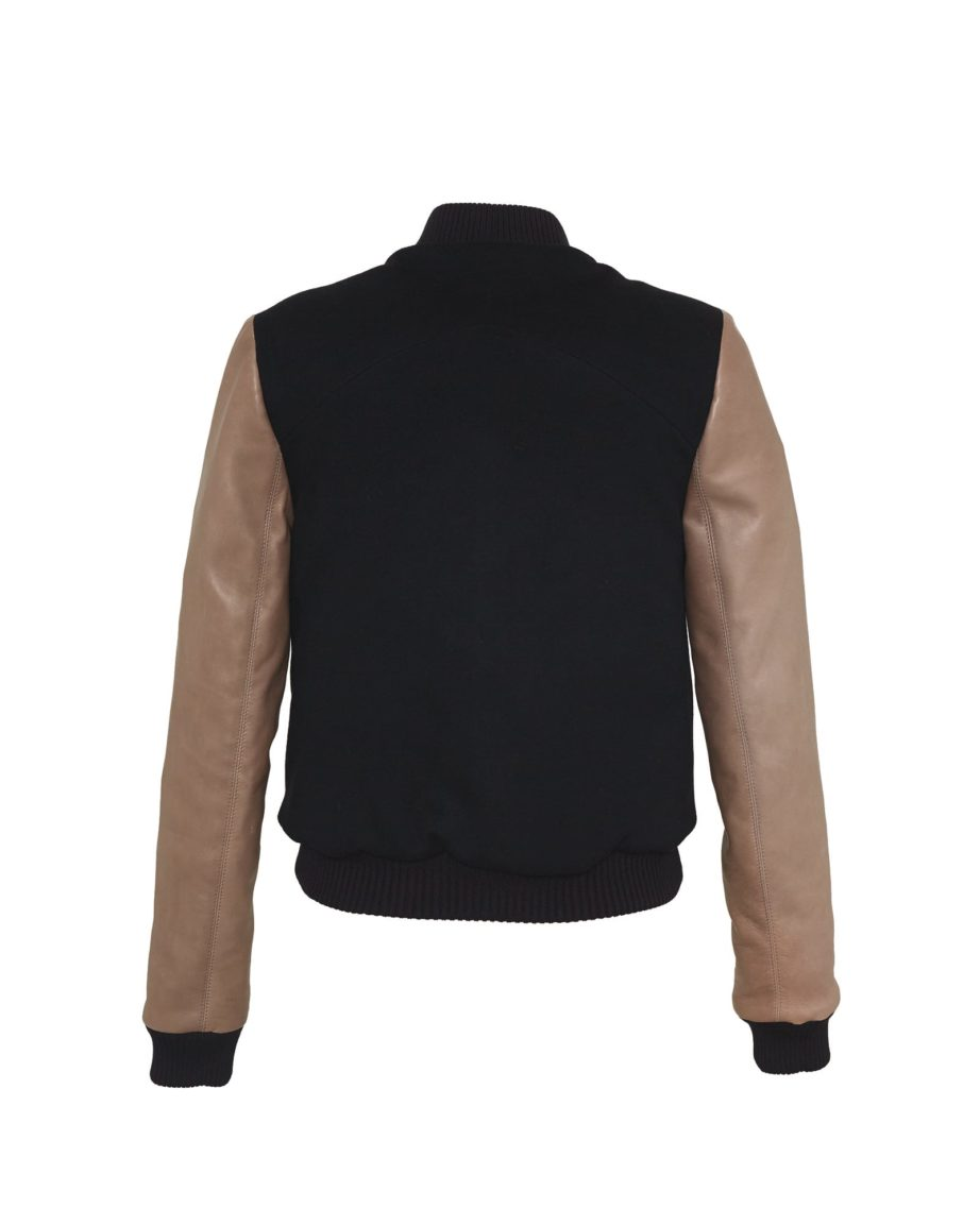 Starstriker Black & Latte Cashmere & Leather