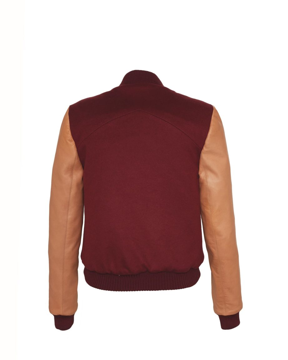 Amazeballer Bordeaux & Caramel Cashmere & Leather