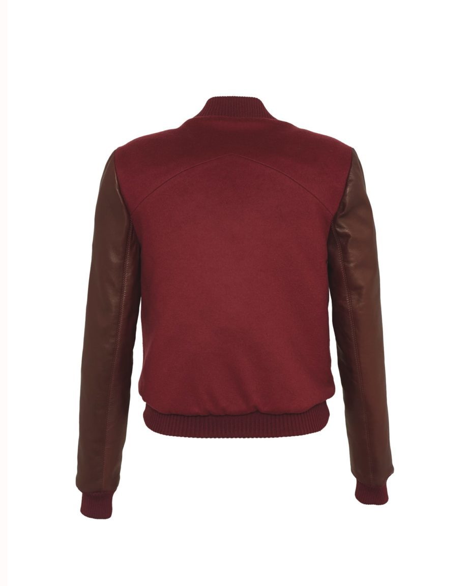 Eyecatcher Bordeaux & Claret Cashmere & Leather