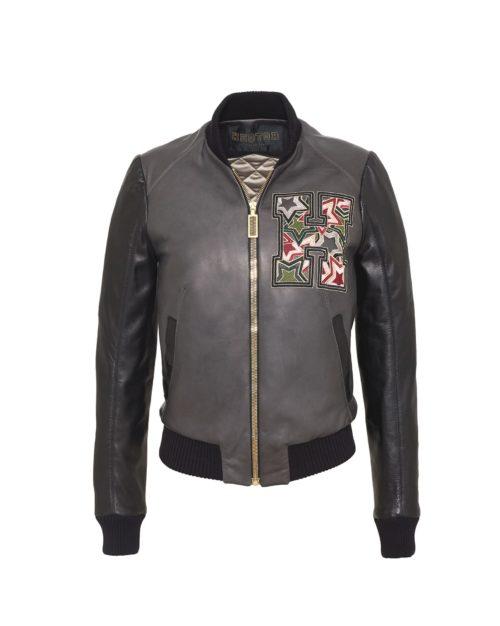Starstriker Granite & Black Leather & Leather