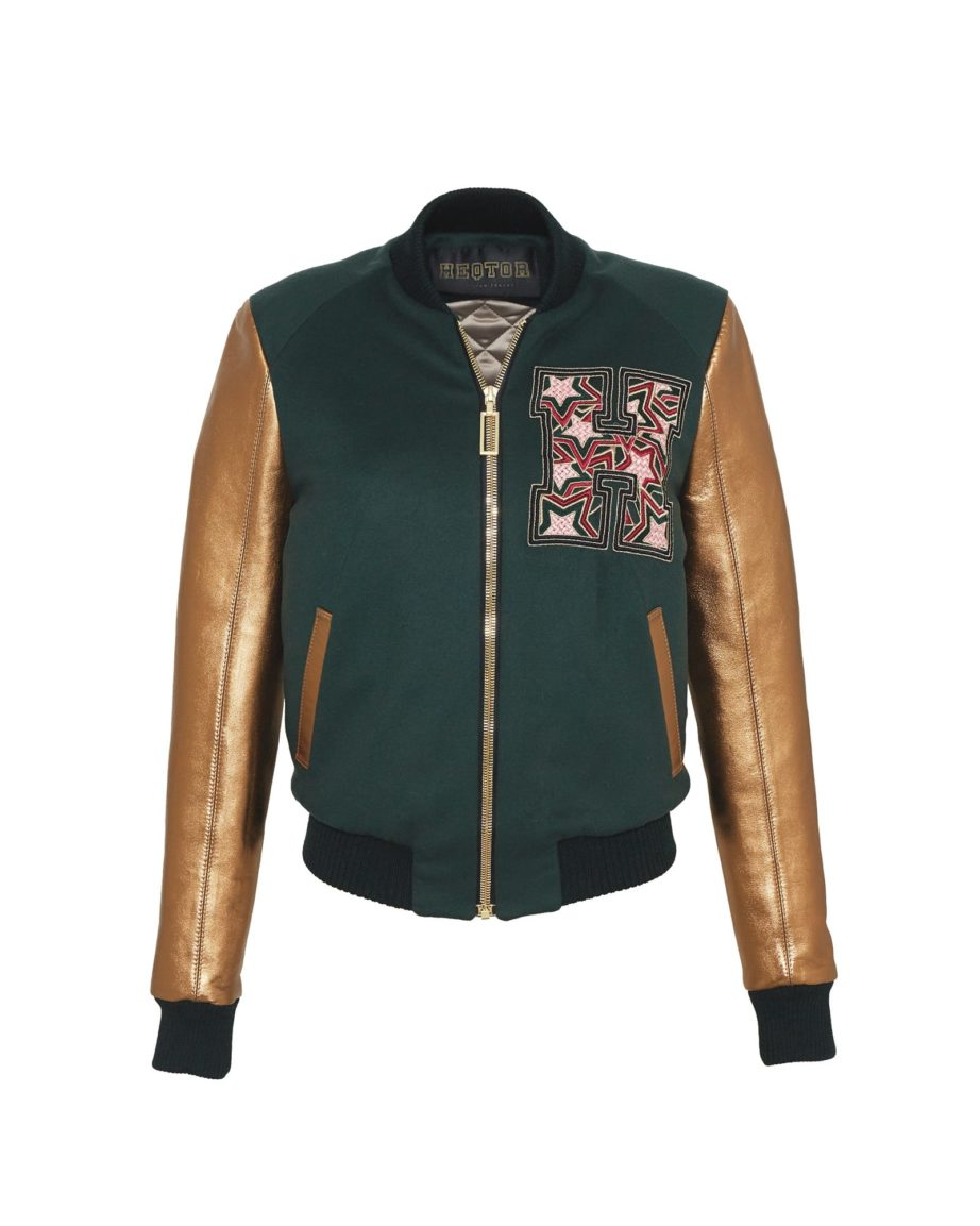 Starstrike Racing Green & Queensgold Cashmere & Leather